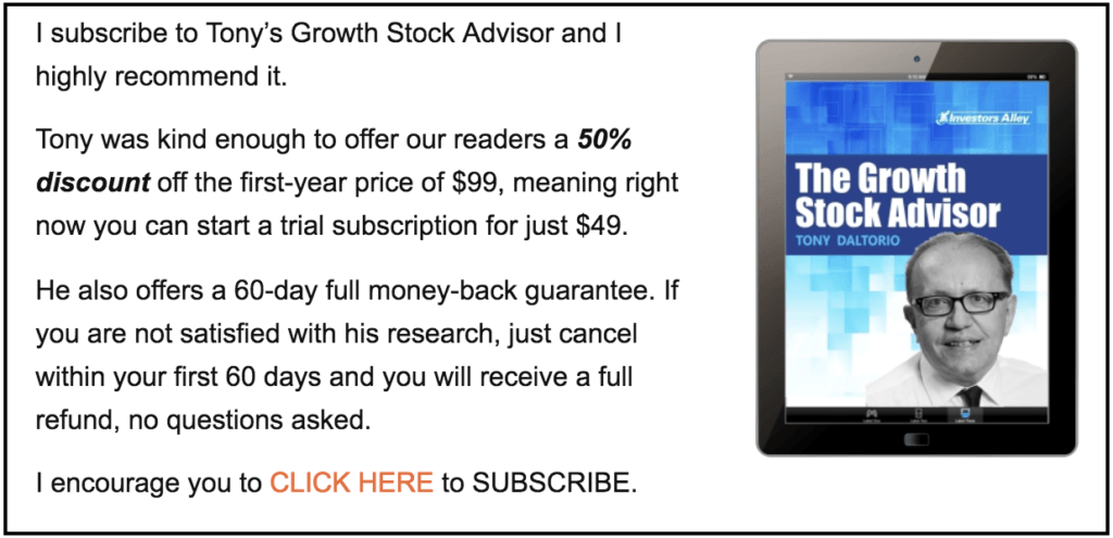 Growth Stock Advisor