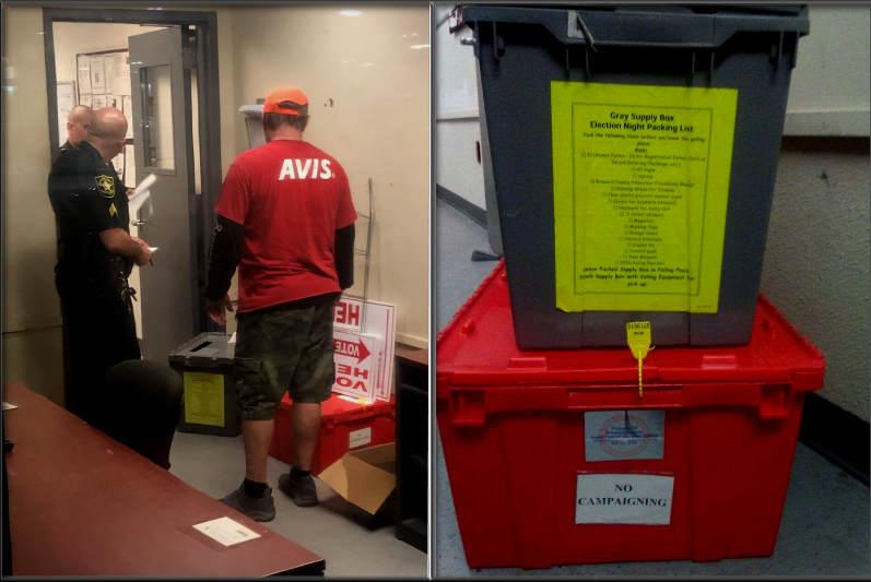 Provisional Ballot Boxes Discovered Inside AVIS Rental Car